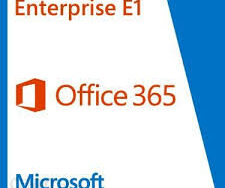 Microsoft Office 365 Plan E1 Q4Y-00003